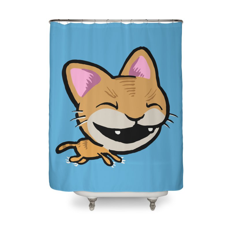 Kittastrophe Home Shower Curtain by STWALLSKULL's Shirt Shack