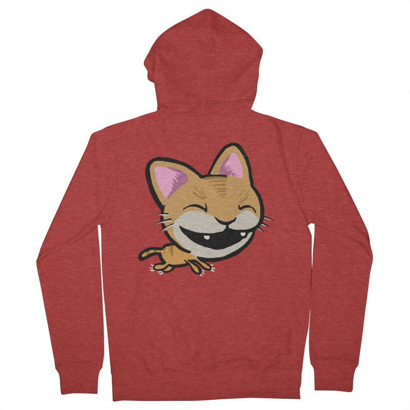 Kittastrophe Men's Zip-Up Hoody by STWALLSKULL's Shirt Shack
