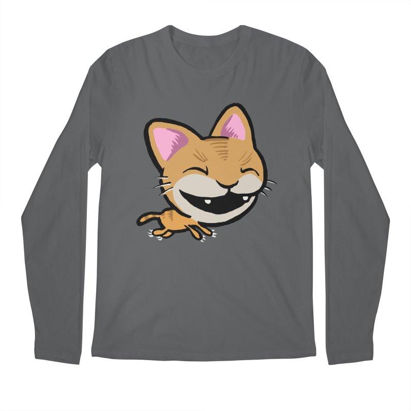 Kittastrophe Men's Regular Longsleeve T-Shirt by STWALLSKULL's Shirt Shack