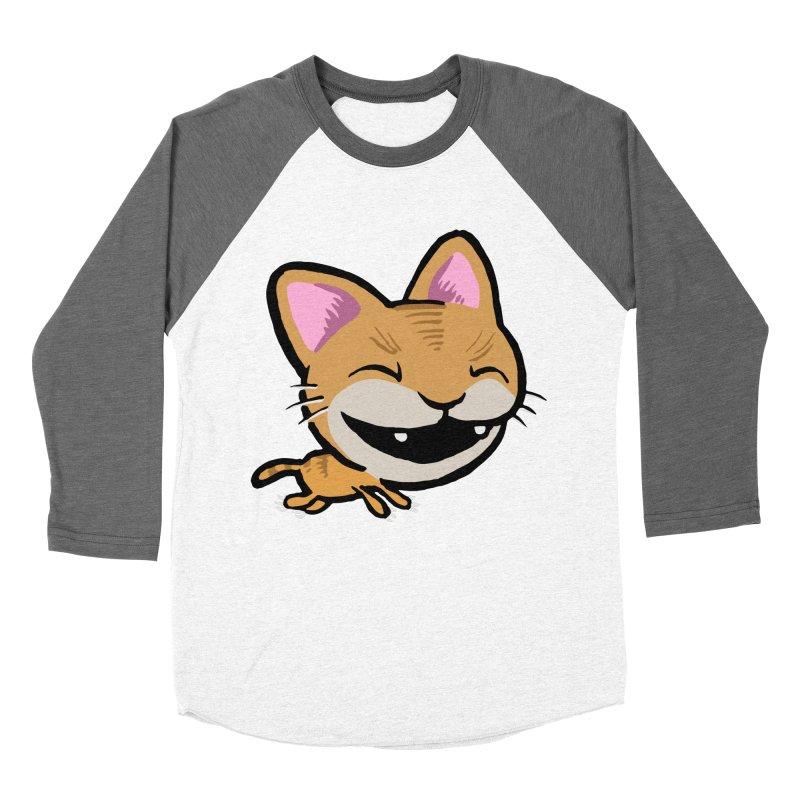 Kittastrophe Women's Baseball Triblend T-Shirt by STWALLSKULL's Shirt Shack