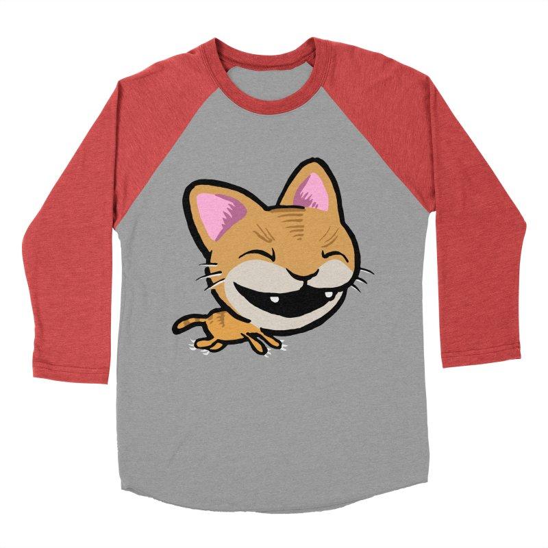 Kittastrophe Men's Baseball Triblend T-Shirt by STWALLSKULL's Shirt Shack