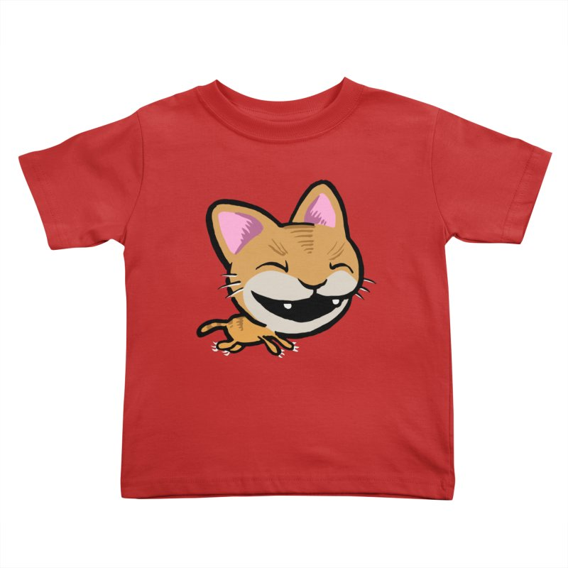 Kittastrophe Kids Toddler T-Shirt by STWALLSKULL's Shirt Shack