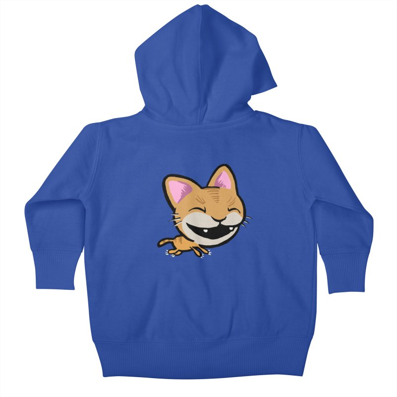 Kittastrophe Kids Baby Zip-Up Hoody by STWALLSKULL's Shirt Shack