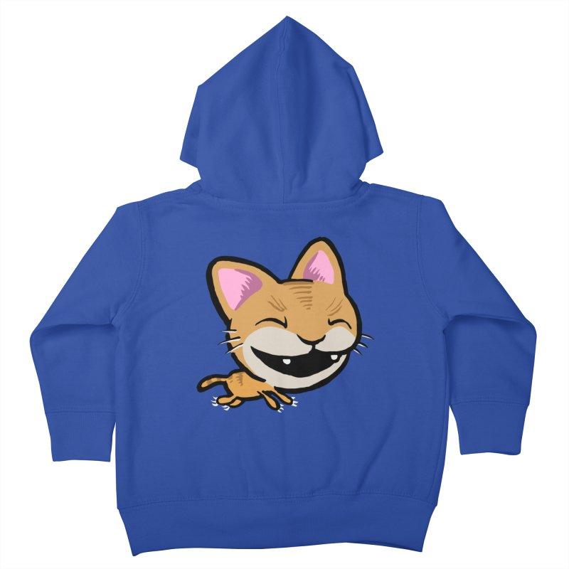 Kittastrophe Kids Toddler Zip-Up Hoody by STWALLSKULL's Shirt Shack