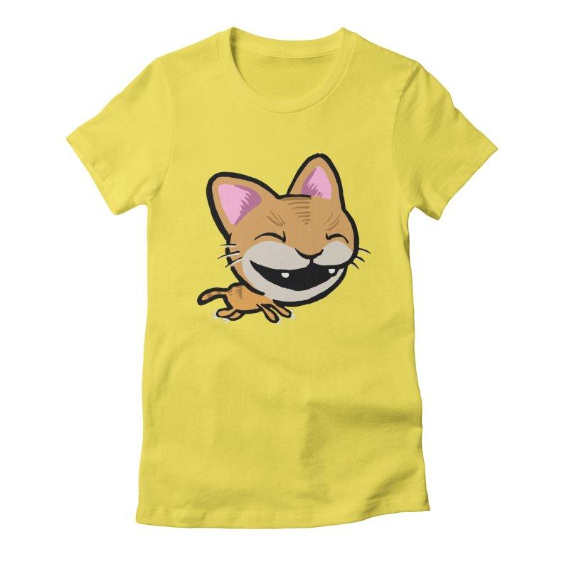 Kittastrophe Women's Fitted T-Shirt by STWALLSKULL's Shirt Shack