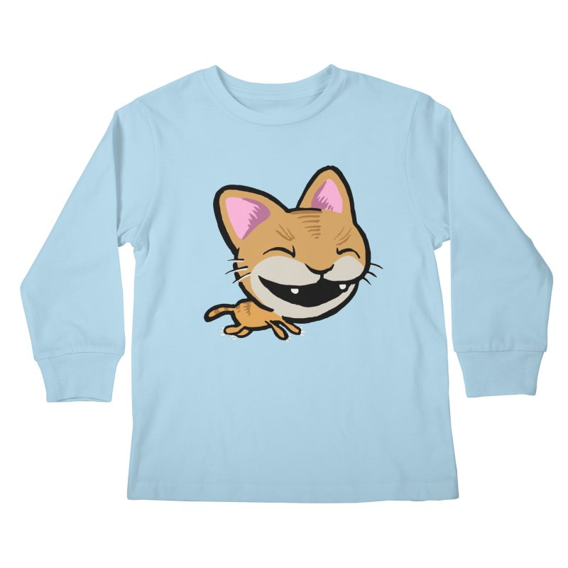 Kittastrophe Kids Longsleeve T-Shirt by STWALLSKULL's Shirt Shack