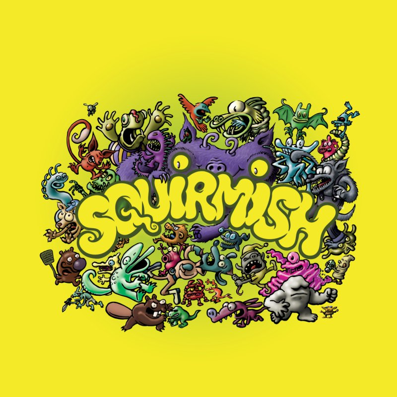 SQUIRMISH Card Back None  by STWALLSKULL's Shirt Shack