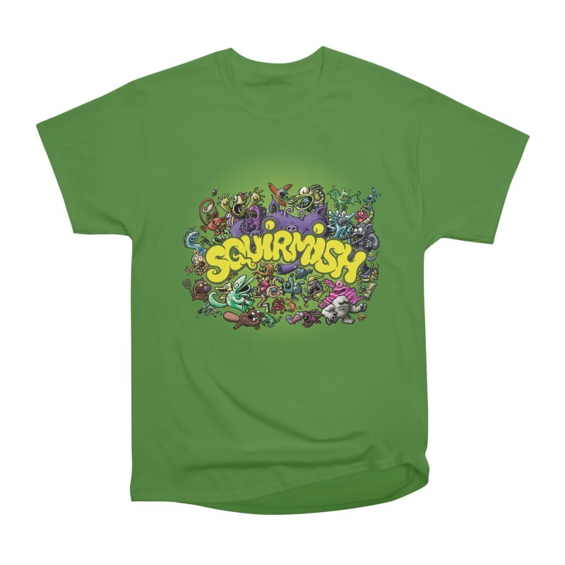 SQUIRMISH Card Back Men's Classic T-Shirt by STWALLSKULL's Shirt Shack