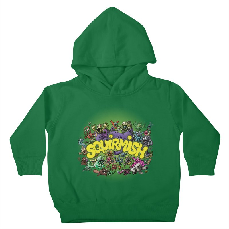 SQUIRMISH Card Back Kids Toddler Pullover Hoody by STWALLSKULL's Shirt Shack