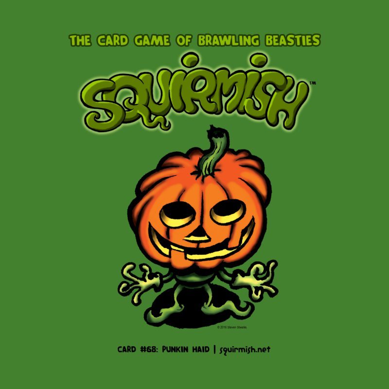 Squirmish | Card #68: Punkin Haid None  by STWALLSKULL's Shirt Shack