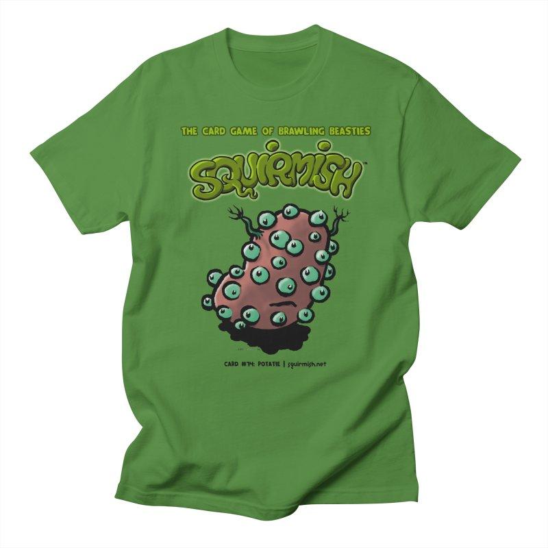 Squirmish | Card #74: Potatie Men's T-Shirt by STWALLSKULL's Shirt Shack