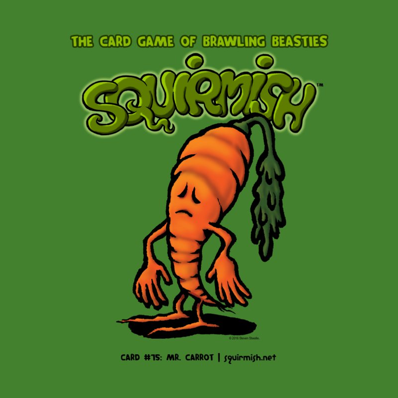 Squirmish | Card #75: Mr. Carrot None  by STWALLSKULL's Shirt Shack