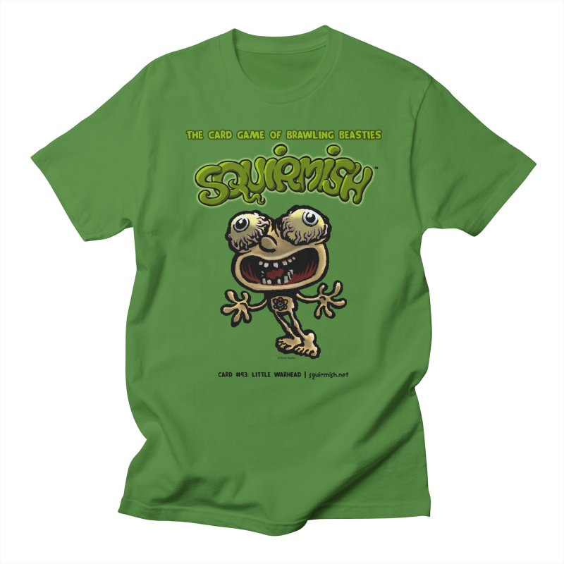 Squirmish | Card #93: Little Warhead Men's T-Shirt by STWALLSKULL's Shirt Shack