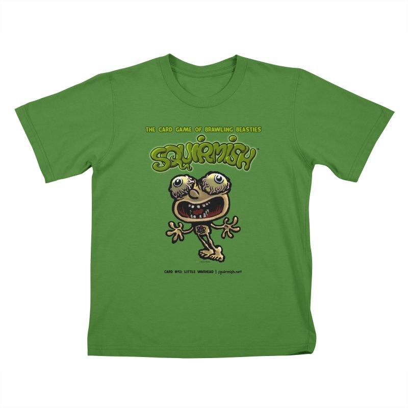 Squirmish | Card #93: Little Warhead Kids T-shirt by STWALLSKULL's Shirt Shack