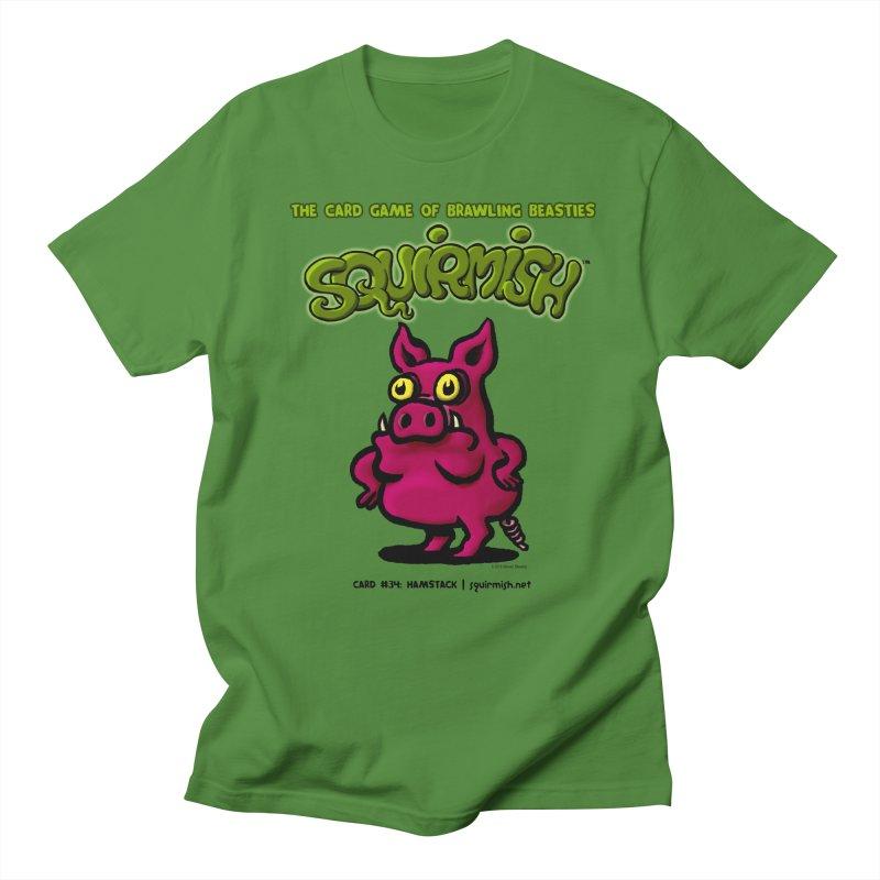 Squirmish | Card #34: Hamstack Men's T-Shirt by STWALLSKULL's Shirt Shack
