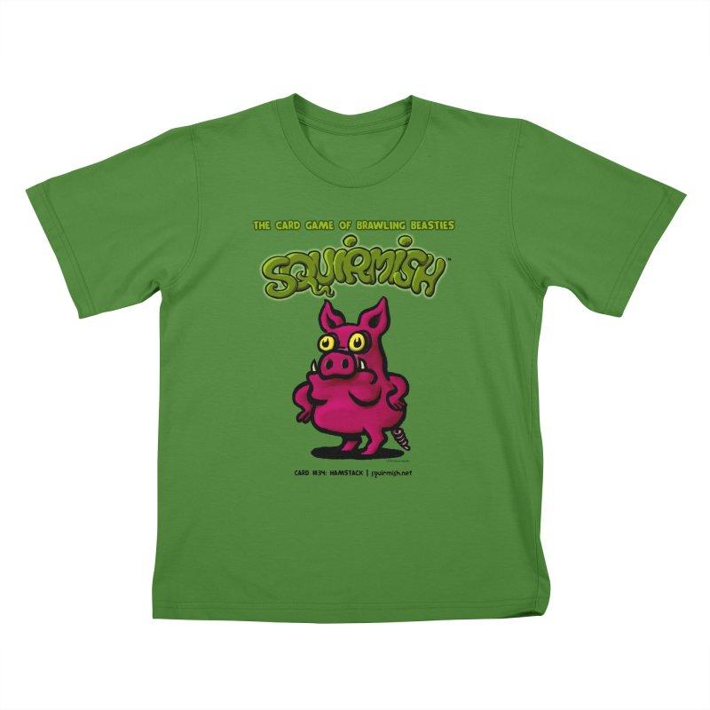 Squirmish | Card #34: Hamstack Kids T-shirt by STWALLSKULL's Shirt Shack