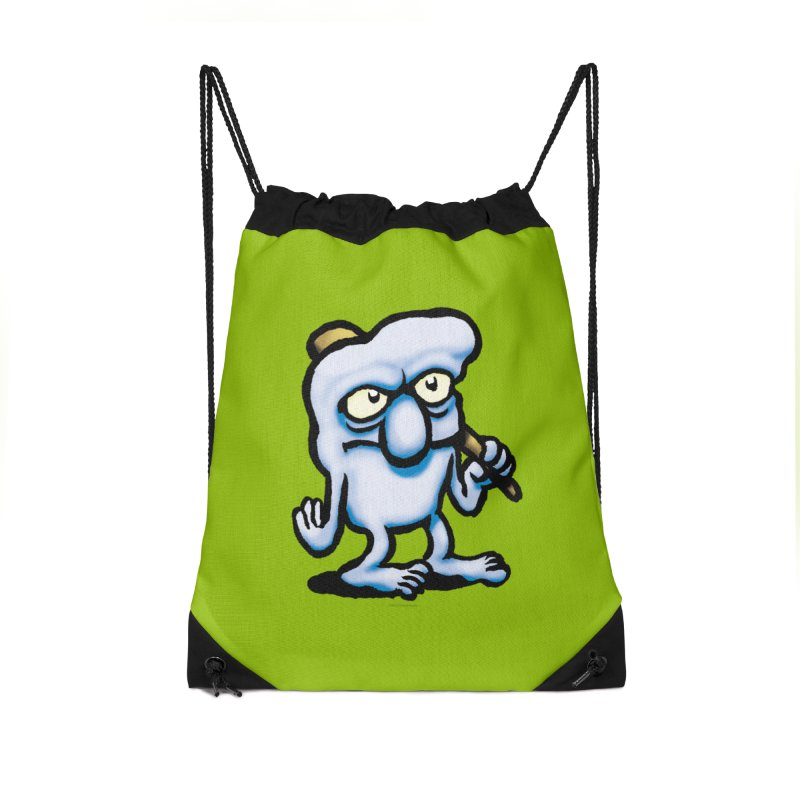 Squirmish Card A32: UGG Accessories Drawstring Bag Bag by STWALLSKULL's Shirt Shack