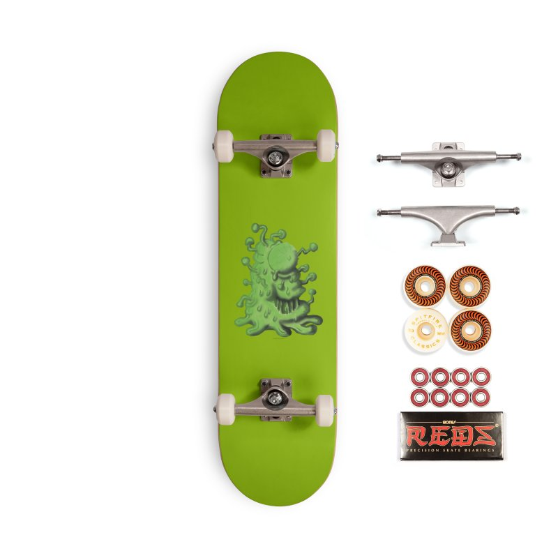 Squirmish Card A41: THE UNCOMMON COLD Accessories Skateboard by STWALLSKULL's Shirt Shack