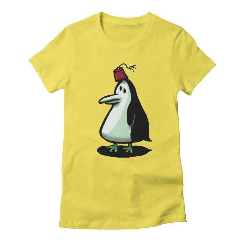 Squirmish Card A44: MASTER PENGU Women's T-Shirt by STWALLSKULL's Shirt Shack