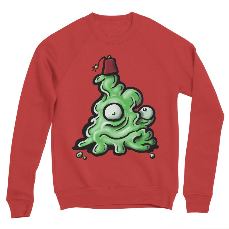 Squirmish Card A46: MASTER TOFU Men's Sponge Fleece Sweatshirt by STWALLSKULL's Shirt Shack