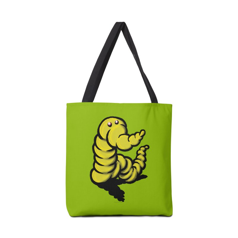 Squirmish Card A54: WORMEL Accessories Tote Bag Bag by STWALLSKULL's Shirt Shack
