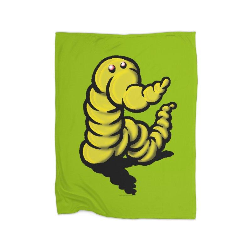Squirmish Card A54: WORMEL Home Fleece Blanket Blanket by STWALLSKULL's Shirt Shack