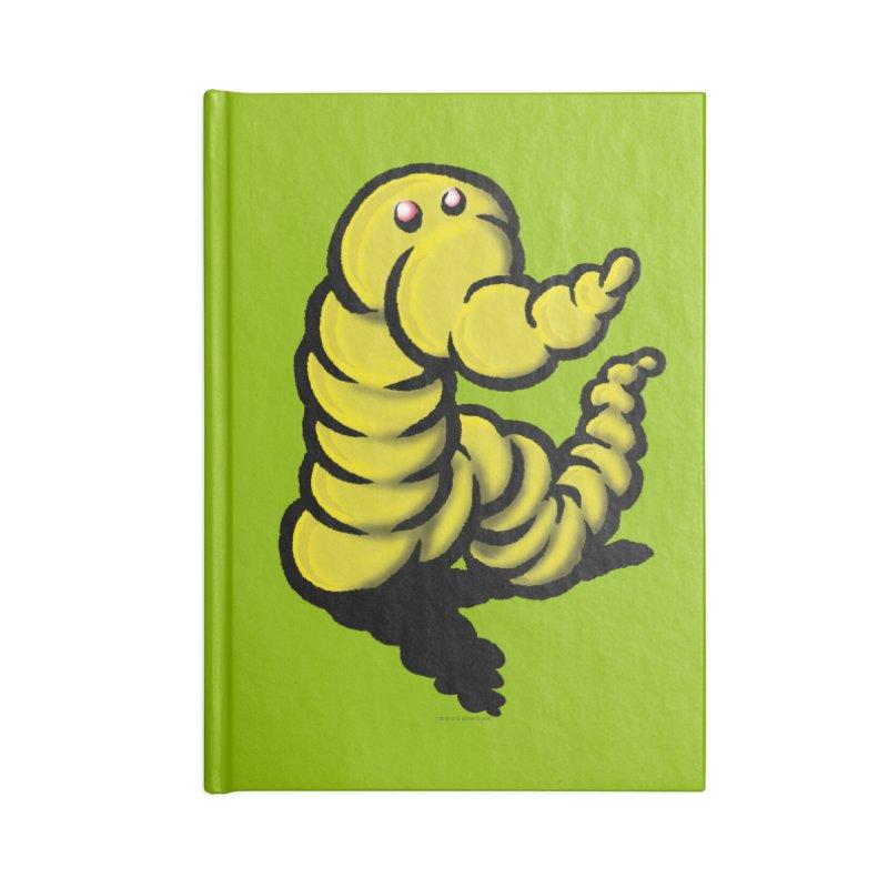 Squirmish Card A54: WORMEL Accessories Blank Journal Notebook by STWALLSKULL's Shirt Shack