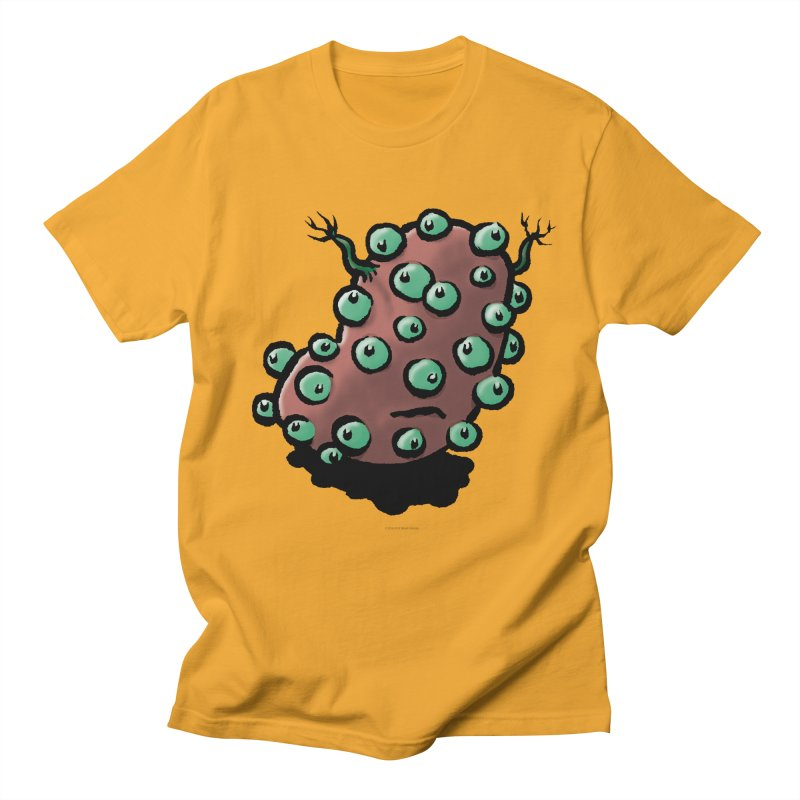 Squirmish Card A55: POTATIE Men's Regular T-Shirt by STWALLSKULL's Shirt Shack