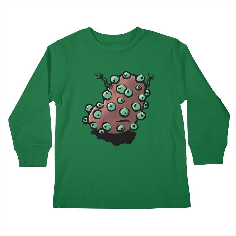 Squirmish Card A55: POTATIE Kids Longsleeve T-Shirt by STWALLSKULL's Shirt Shack