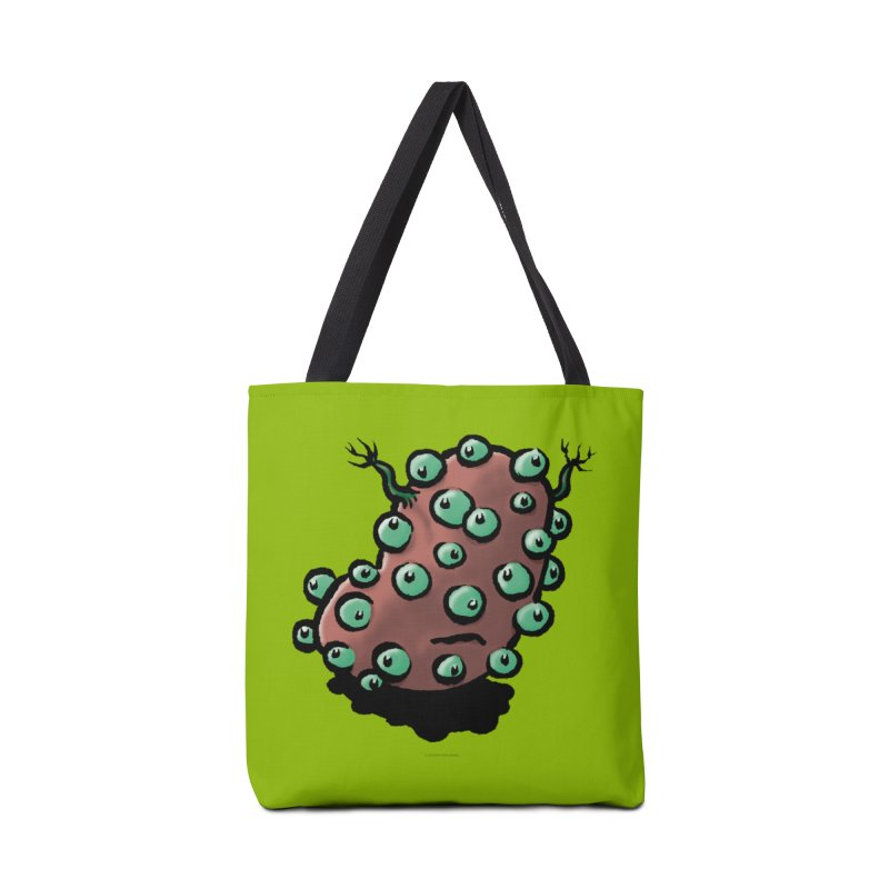 Squirmish Card A55: POTATIE Accessories Tote Bag Bag by STWALLSKULL's Shirt Shack