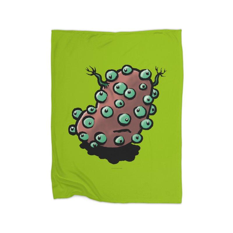 Squirmish Card A55: POTATIE Home Fleece Blanket Blanket by STWALLSKULL's Shirt Shack