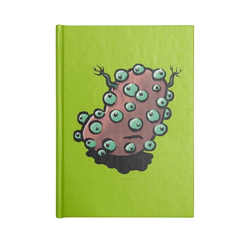Squirmish Card A55: POTATIE Accessories Blank Journal Notebook by STWALLSKULL's Shirt Shack