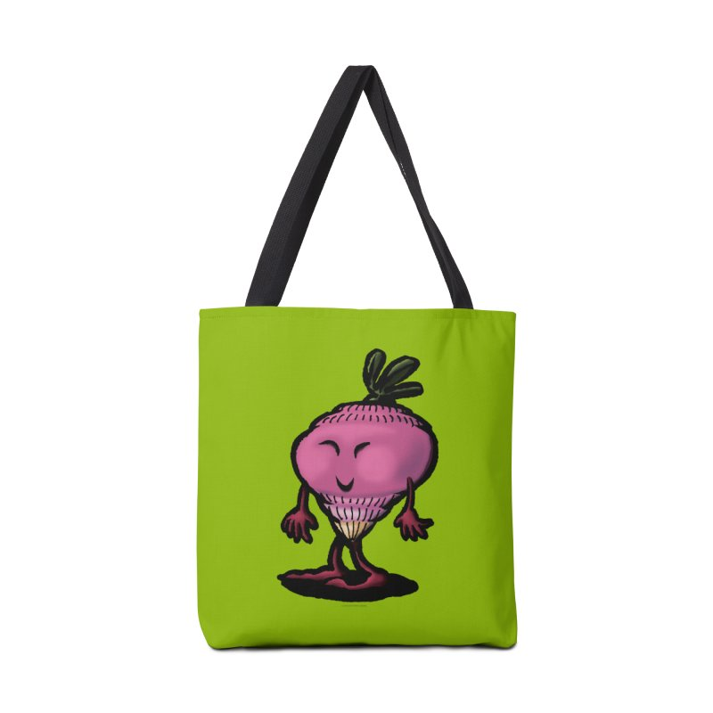 Squirmish Card A58: MISS TURNIP Accessories Tote Bag Bag by STWALLSKULL's Shirt Shack