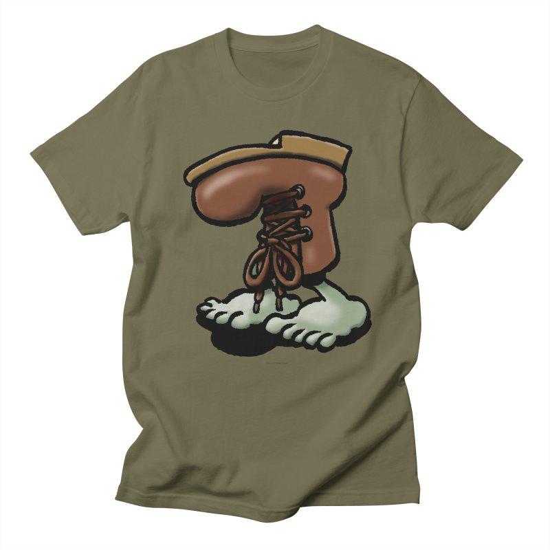 Squirmish Card A59: FIGBOOT Men's Regular T-Shirt by STWALLSKULL's Shirt Shack