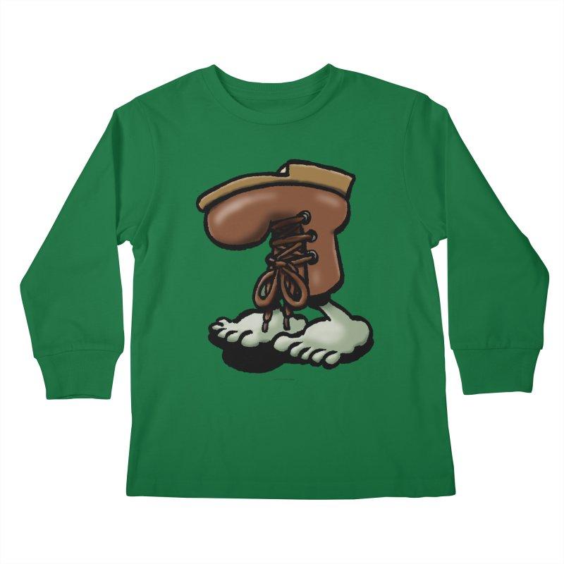 Squirmish Card A59: FIGBOOT Kids Longsleeve T-Shirt by STWALLSKULL's Shirt Shack