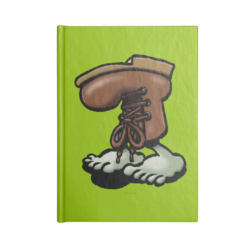 Squirmish Card A59: FIGBOOT Accessories Blank Journal Notebook by STWALLSKULL's Shirt Shack