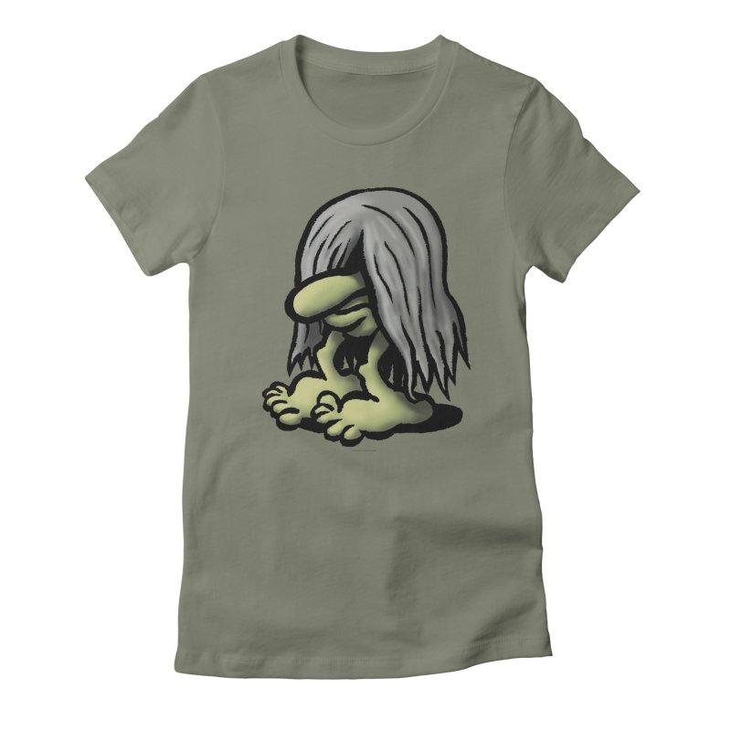 Squirmish Card A60: DENDWIGGO Women's Fitted T-Shirt by STWALLSKULL's Shirt Shack