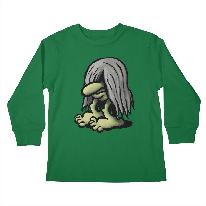 Squirmish Card A60: DENDWIGGO Kids Longsleeve T-Shirt by STWALLSKULL's Shirt Shack