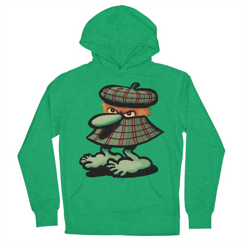 Squirmish Card A61: QUAZSCOTCH Men's French Terry Pullover Hoody by STWALLSKULL's Shirt Shack