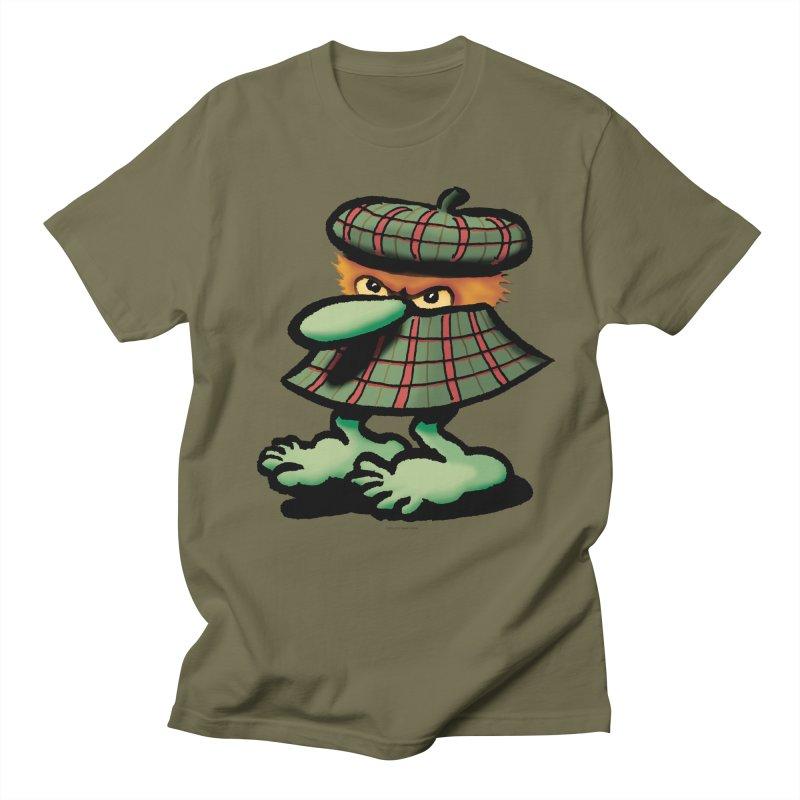 Squirmish Card A61: QUAZSCOTCH Men's Regular T-Shirt by STWALLSKULL's Shirt Shack