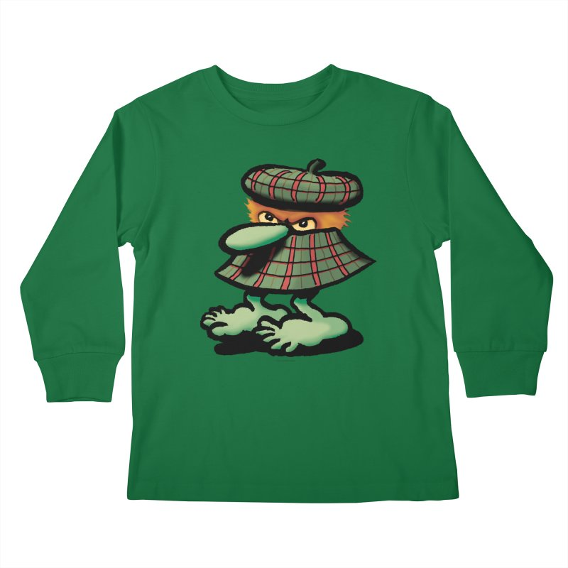 Squirmish Card A61: QUAZSCOTCH Kids Longsleeve T-Shirt by STWALLSKULL's Shirt Shack