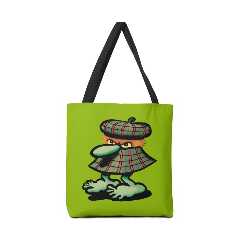 Squirmish Card A61: QUAZSCOTCH Accessories Tote Bag Bag by STWALLSKULL's Shirt Shack