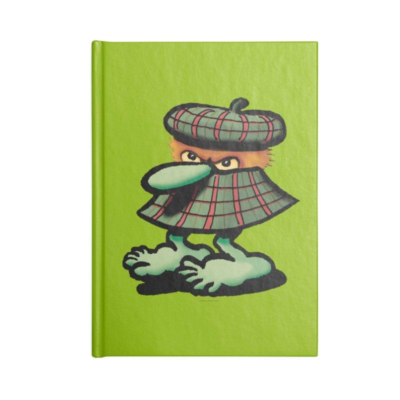 Squirmish Card A61: QUAZSCOTCH Accessories Blank Journal Notebook by STWALLSKULL's Shirt Shack