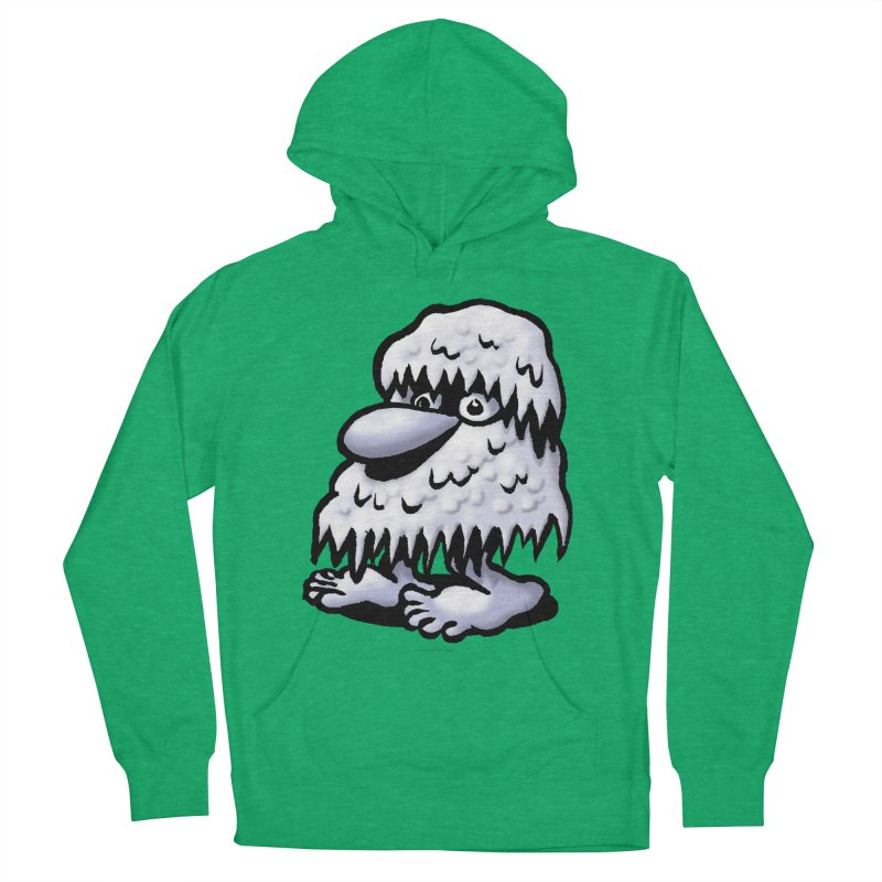 Squirmish Card A62: THE SNOWBOMBNIBLE OMEN Men's French Terry Pullover Hoody by STWALLSKULL's Shirt Shack