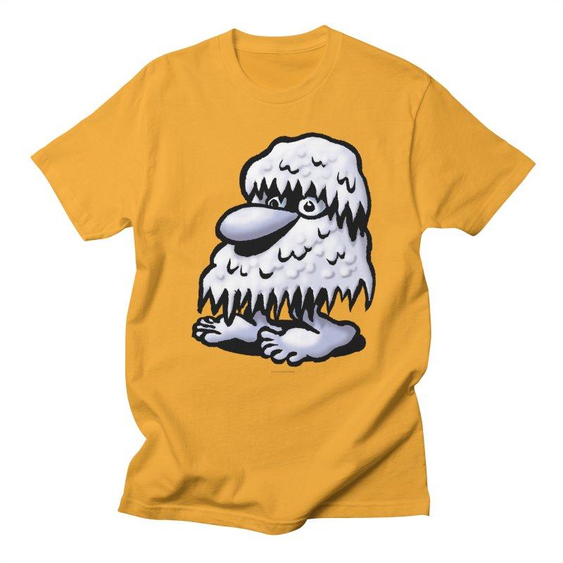 Squirmish Card A62: THE SNOWBOMBNIBLE OMEN Men's Regular T-Shirt by STWALLSKULL's Shirt Shack