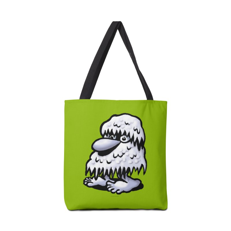Squirmish Card A62: THE SNOWBOMBNIBLE OMEN Accessories Tote Bag Bag by STWALLSKULL's Shirt Shack