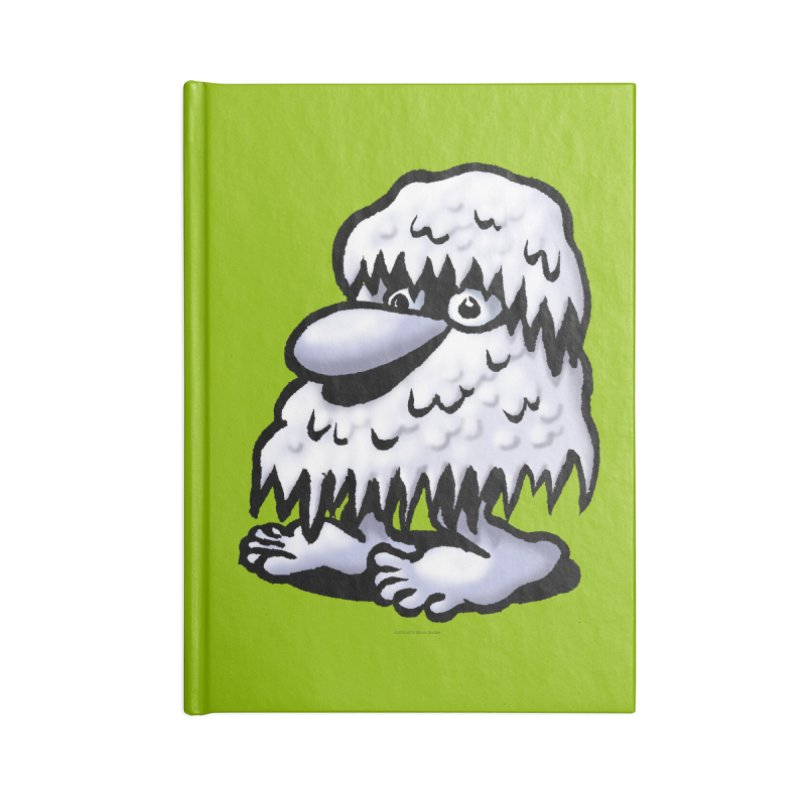 Squirmish Card A62: THE SNOWBOMBNIBLE OMEN Accessories Blank Journal Notebook by STWALLSKULL's Shirt Shack