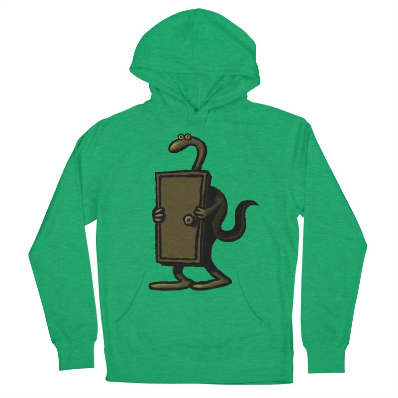 Squirmish Card A63: THE KNOCKLESS MONSTER Women's French Terry Pullover Hoody by STWALLSKULL's Shirt Shack