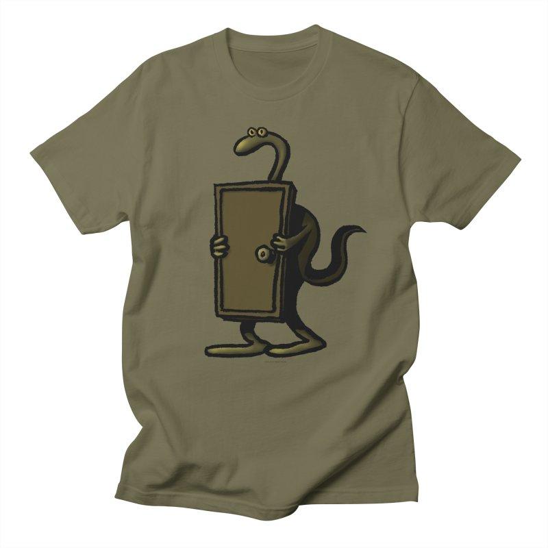 Squirmish Card A63: THE KNOCKLESS MONSTER Men's Regular T-Shirt by STWALLSKULL's Shirt Shack