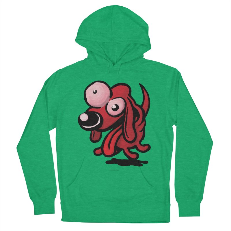 Squirmish Card A64: EXCITOPUP Women's French Terry Pullover Hoody by STWALLSKULL's Shirt Shack